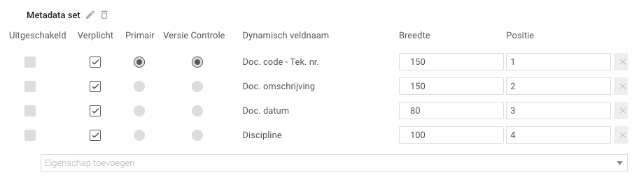 Metadata in Docstream